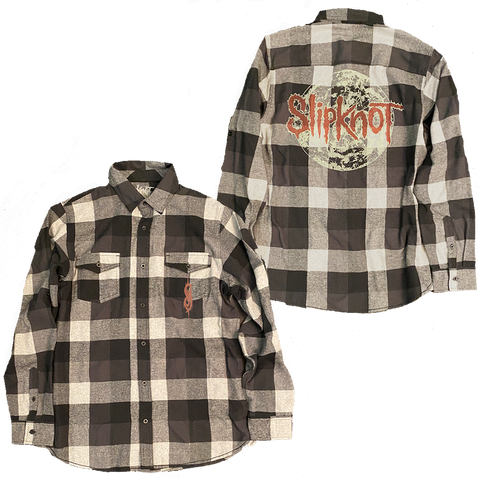 Slipknot Grey Flannel