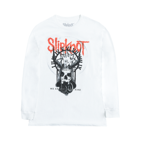 Slipknot Skull Moon Longsleeve T-Shirt
