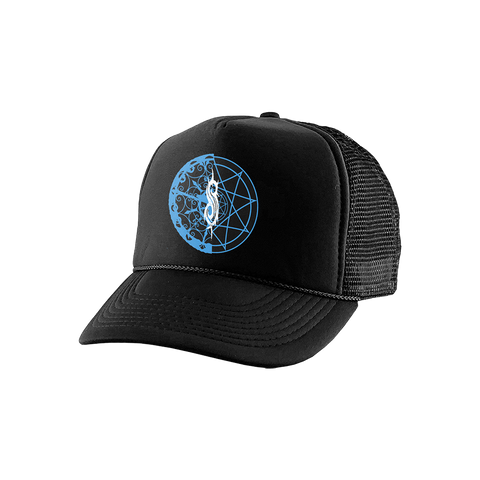 Pieced 9 Point Star Trucker Hat