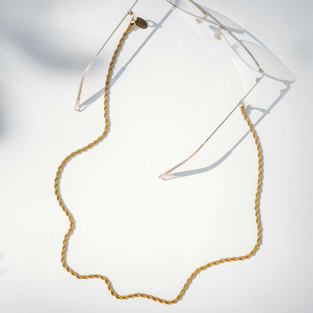 Snake Gold glasses chain