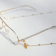 Ball Gold glasses chain