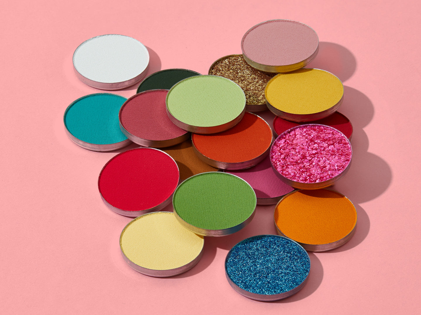 Eyeshadow - A colorful range of pressed single-pan eyeshadow by Coloured Raine Cosmetics