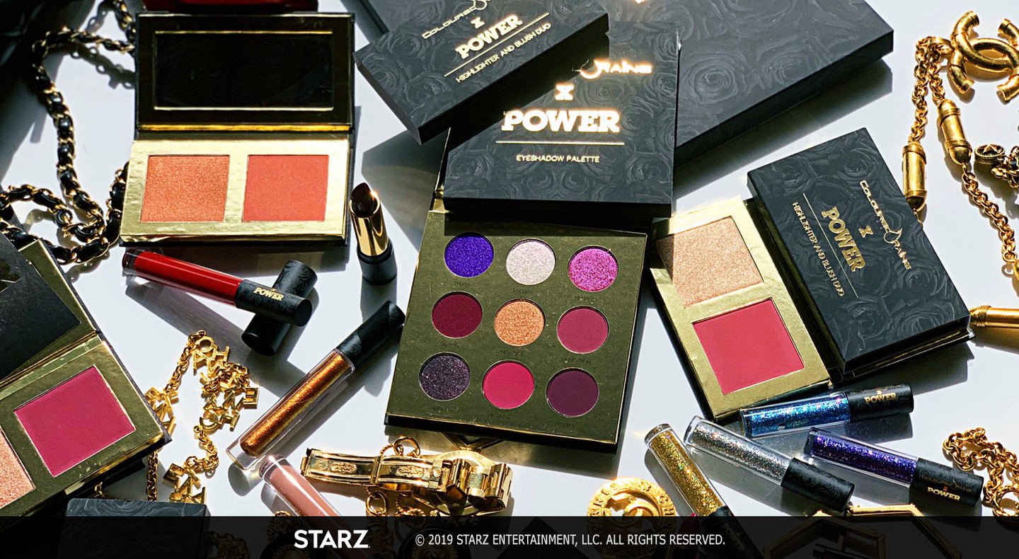 Coloured Raine x POWER makeup collection is available now
