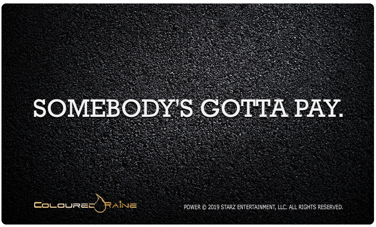 Somebody's Gotta Pay Power Gift Card - Limited Edition