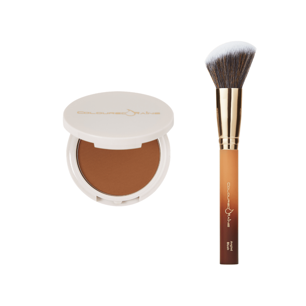 Caramel Delight Bronzer & Blush Brush Bundle