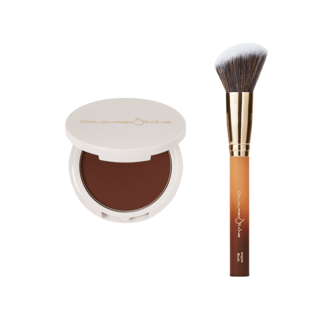 Mocha Queen Bronzer & Blush Brush Bundle