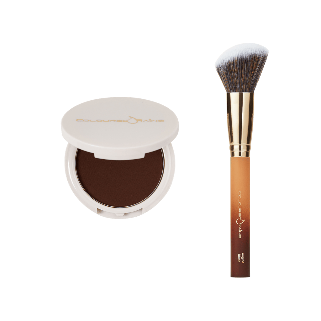 Cocoa Goddess Bronzer & Blush Brush Bundle