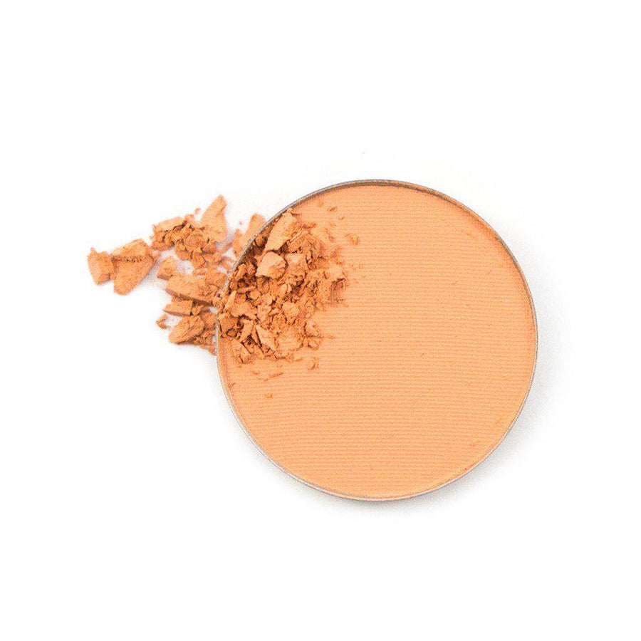 Angel Face pale cream eyeshadow broken up