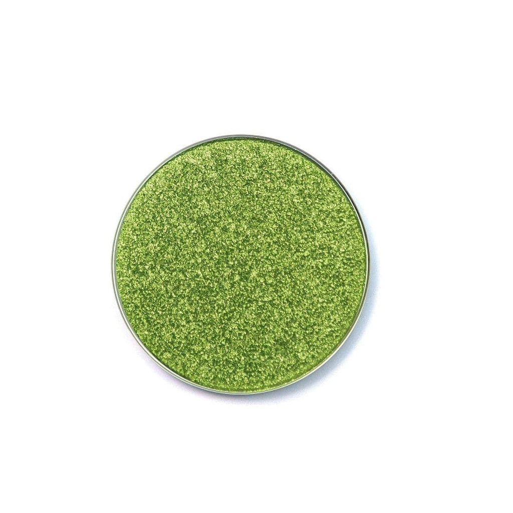 Bay Breeze lime green eyeshadow by Coloured Raine Cosmetics