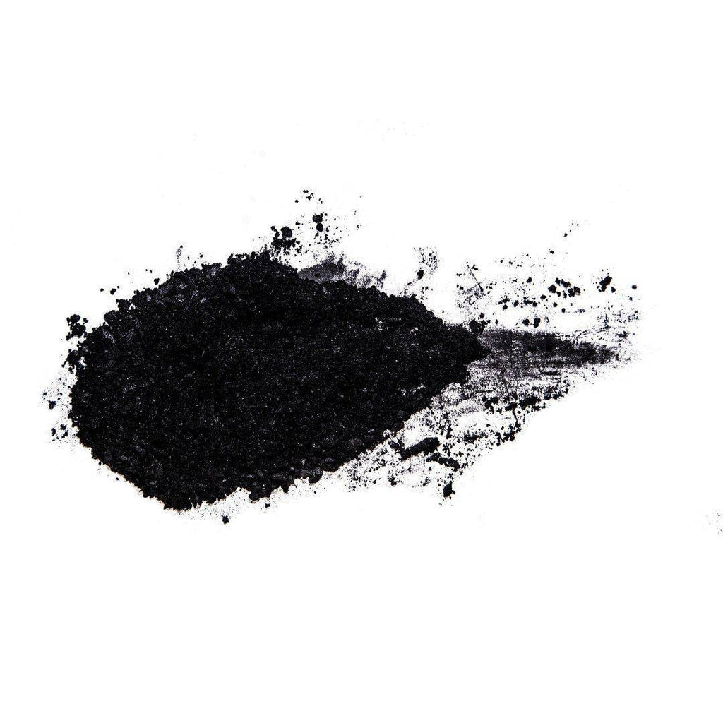 Black Moon true black eyeshadow powdered