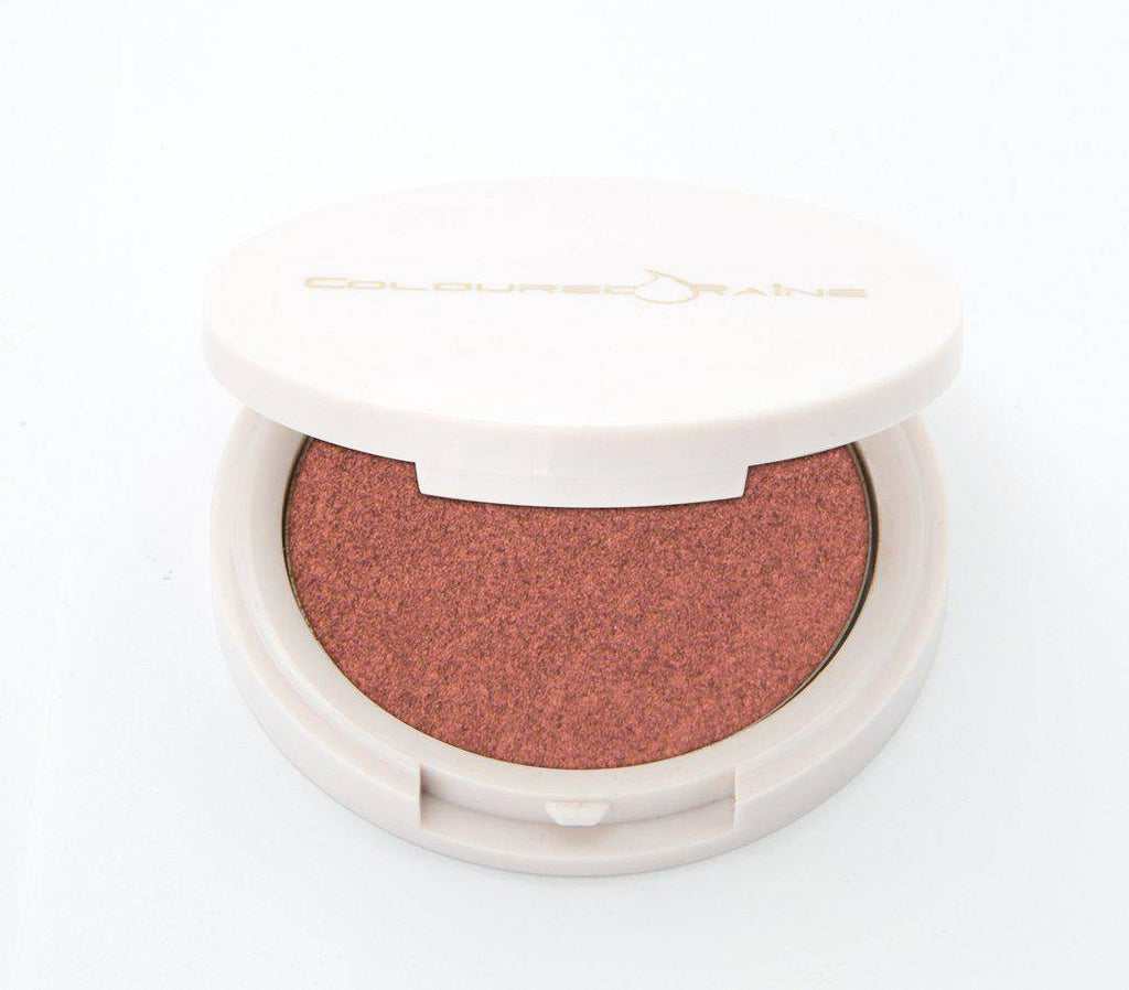 Bourgeois - raspberry highlighter with copper undertones half-opened