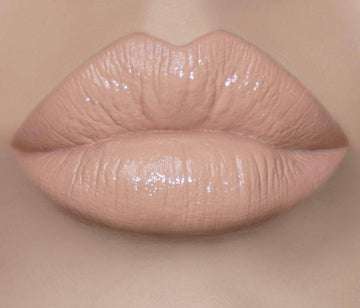 This creamy nude lip lacquer will envelop your lips in luxury - Butter Luv by Coloured Raine Cosmetics