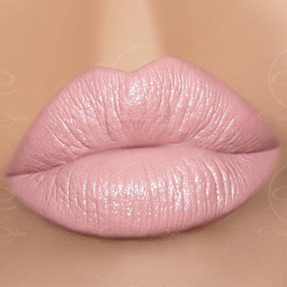 This classic, pink lipstick will leave your lips fully moisturized and full of color during wear time.- Charmed Satin Lipstick by Coloured Raine Cosmetics