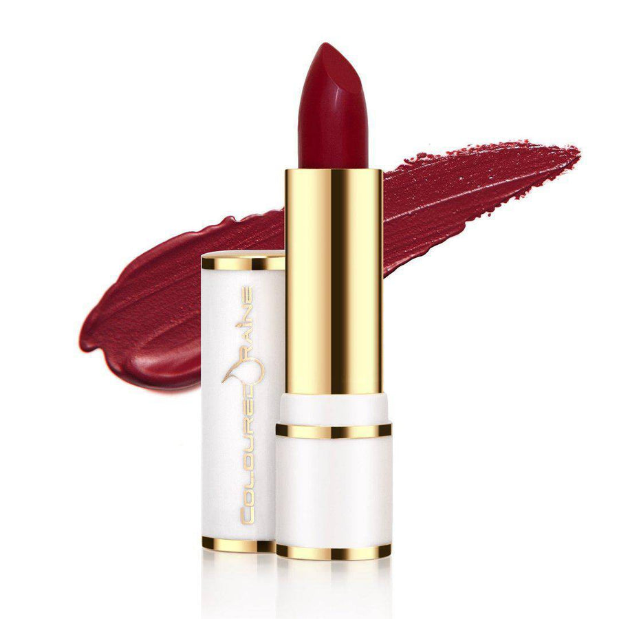 Cherry Blossom Red Lipstick by Coloured Raine Cosmetics