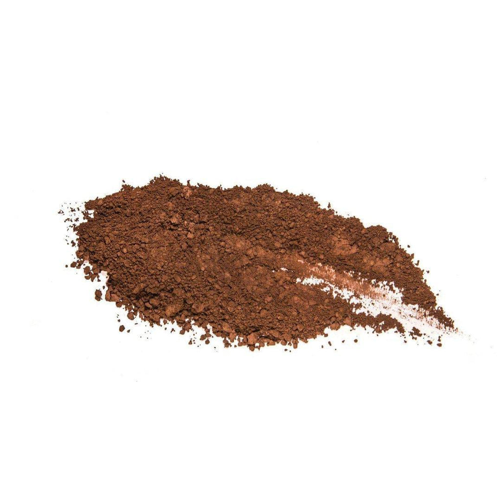 Chocolate powdered - deep brown eyeshadow with red undertones