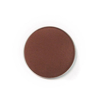 Chocolate - deep brown eyeshadow by Coloured Raine Cosmetics