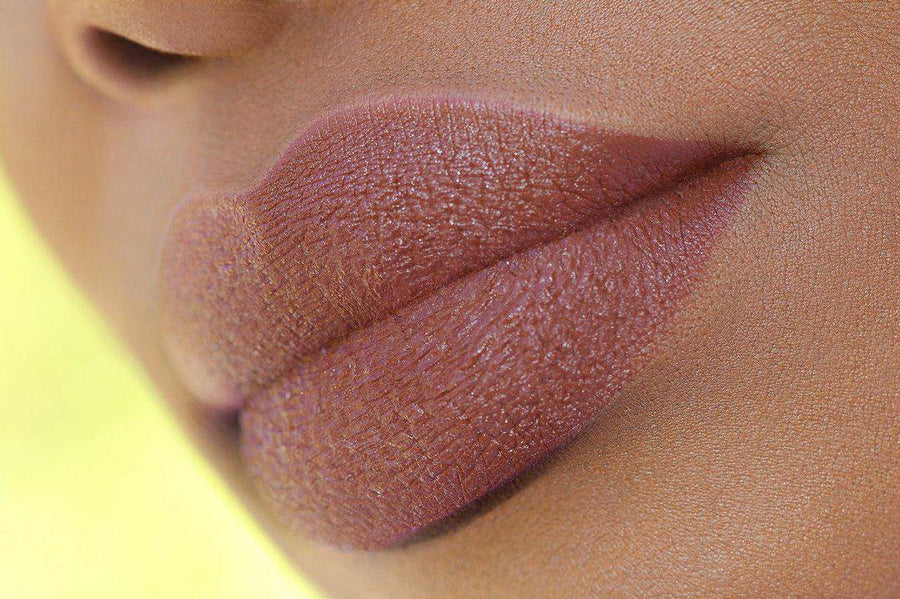 Chocolip - a classic brown lipstick that's super moisturizing.