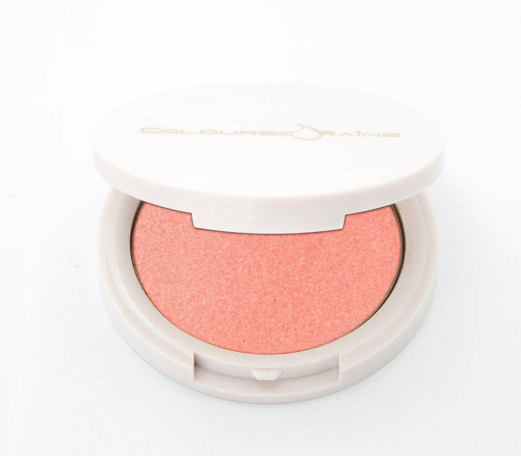 Cutie Pie pink highlighter, half open