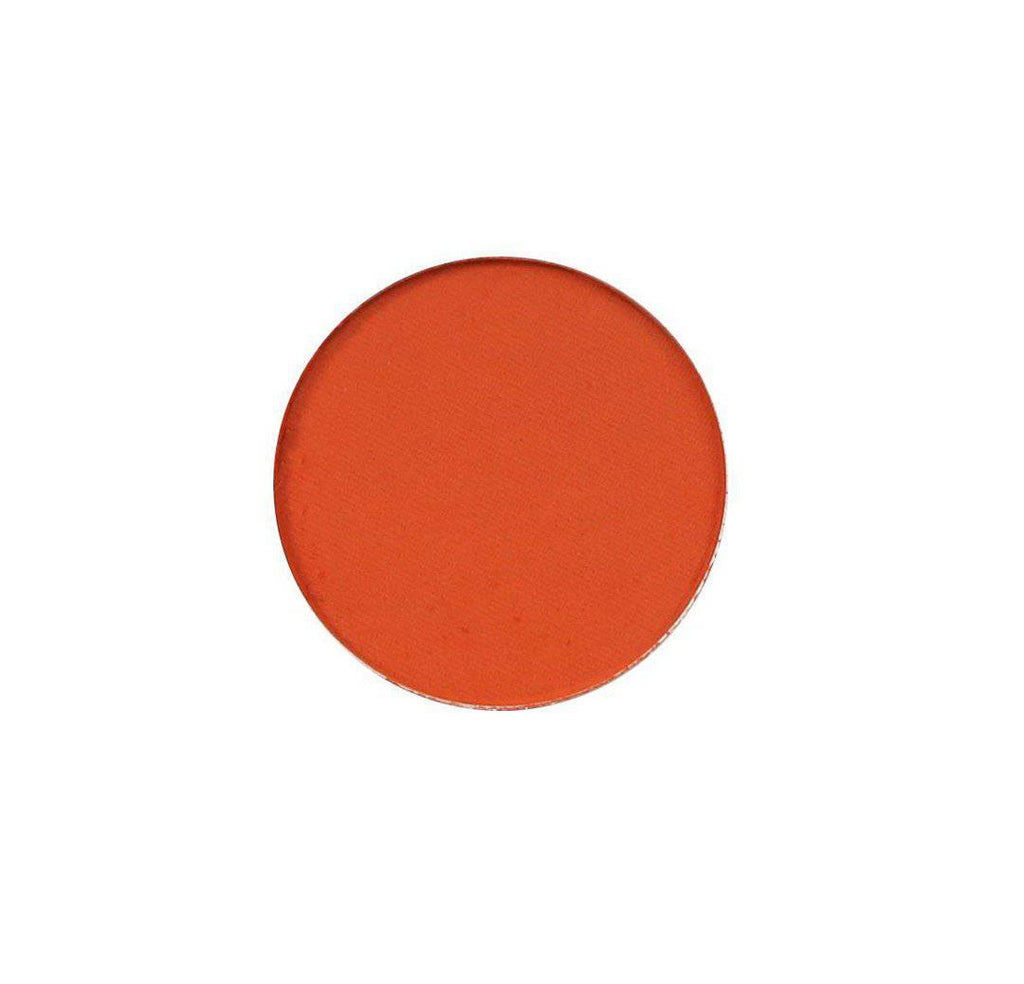 Empress - vibrant orange eyeshadow by Coloured Raine Cosmetics