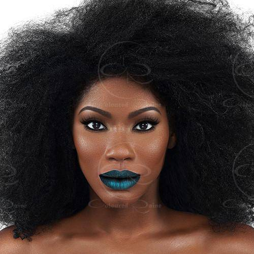 A gorgeous metallic green liquid lipstick that pops on all skin tones.