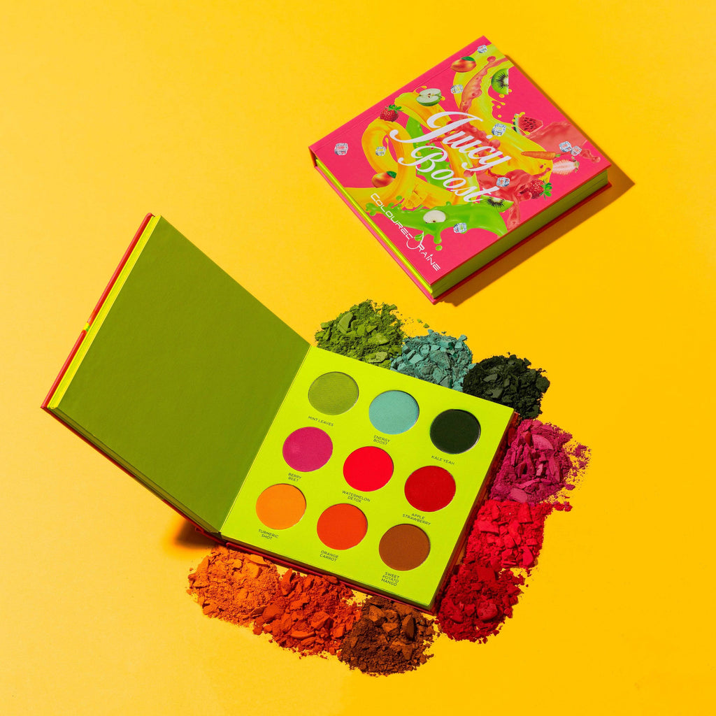 Juicy Boost Pressed Pigment Book Palette