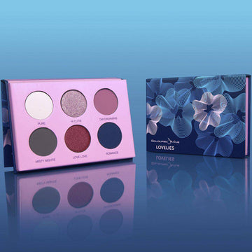 Lovelies™ cool-toned eyeshadow palette by Coloured Raine Cosmetics