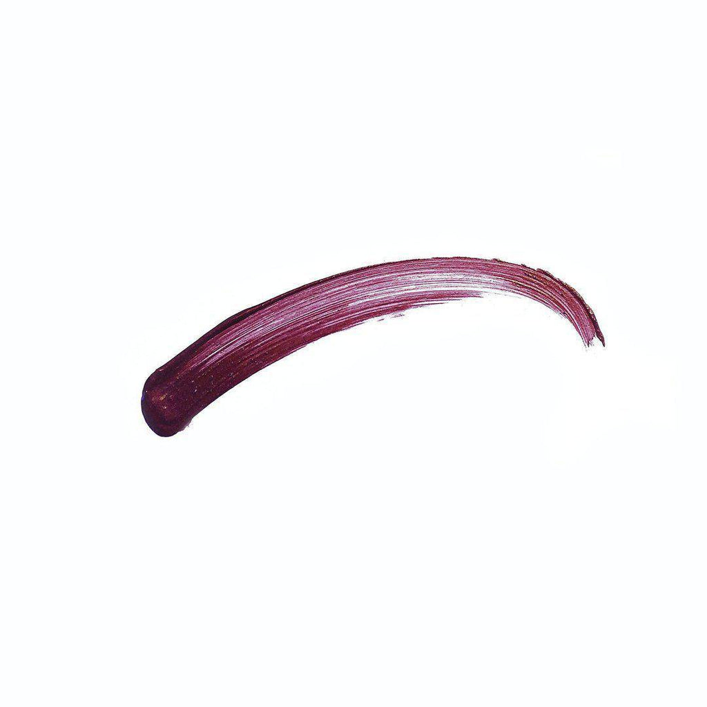 Mary - burgundy liquid lipstick swatch