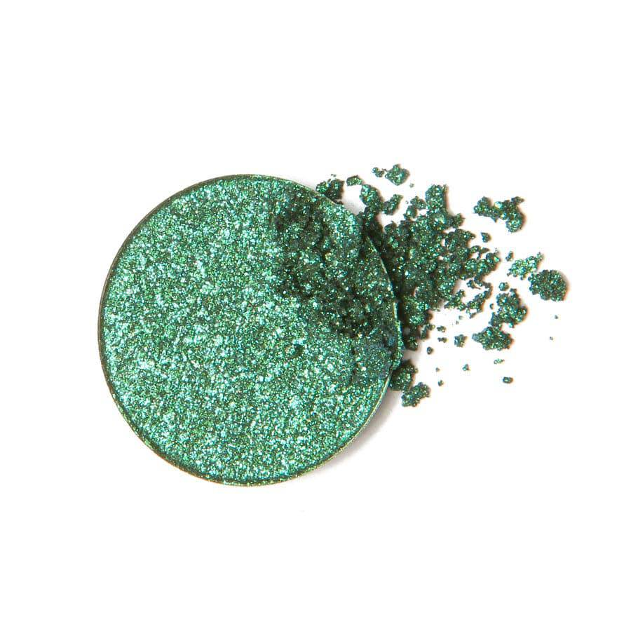 Teal eyeshadow detail by Coloured Raine Cosmetics