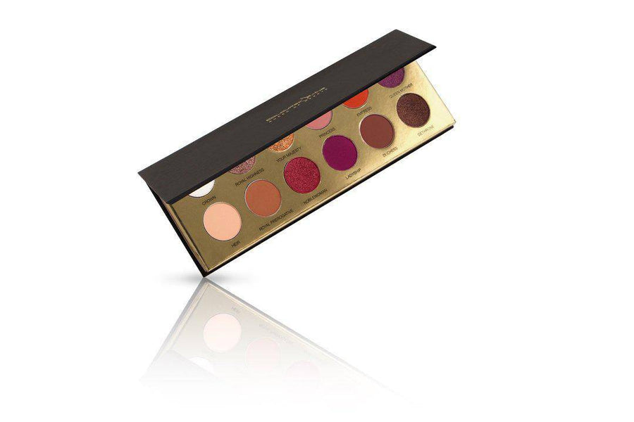 Queen of Hearts™ bestselling eyeshadow palette on an angle