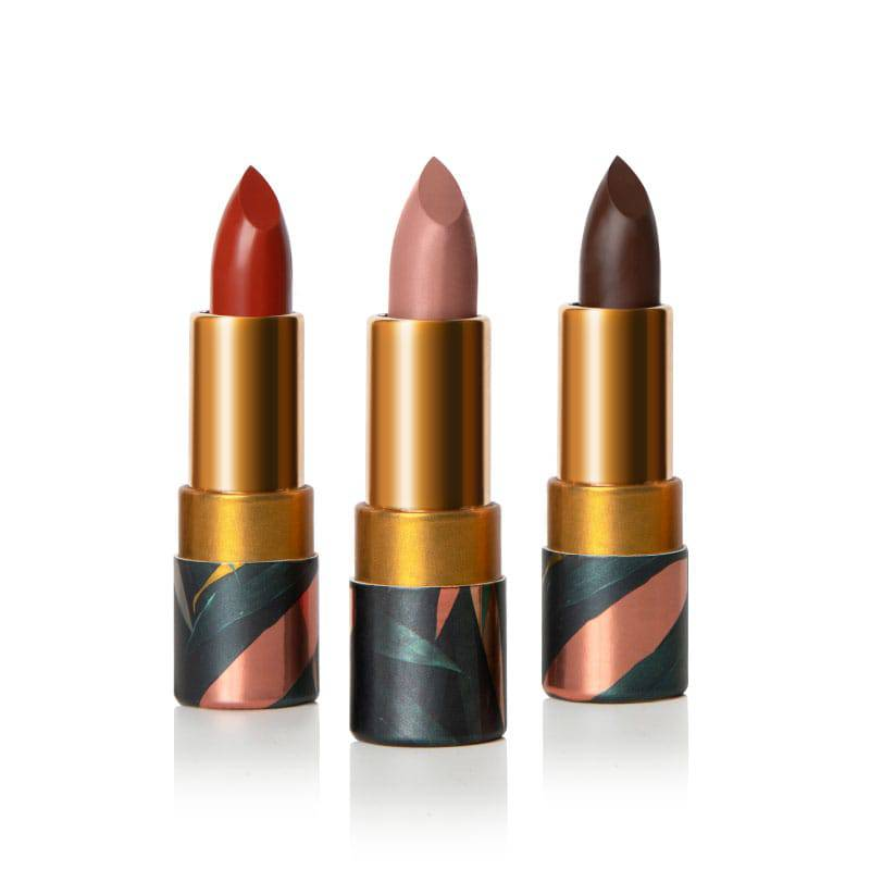 Lipsticks with a wonderful soft matte texture that allow for long wear - Safari Raine by Coloured Raine Cosmetics