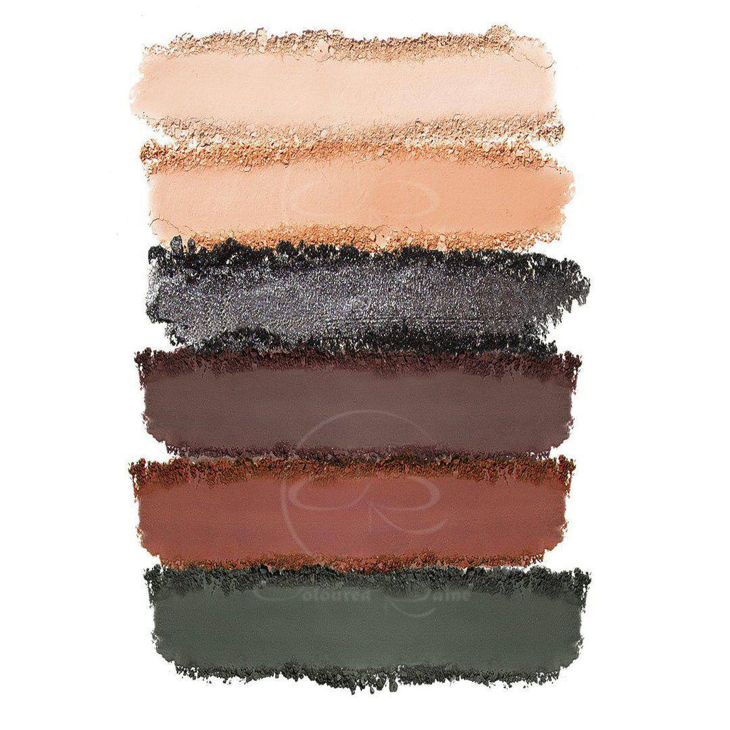 Smoke Show™ warm-toned eyeshadow swatches