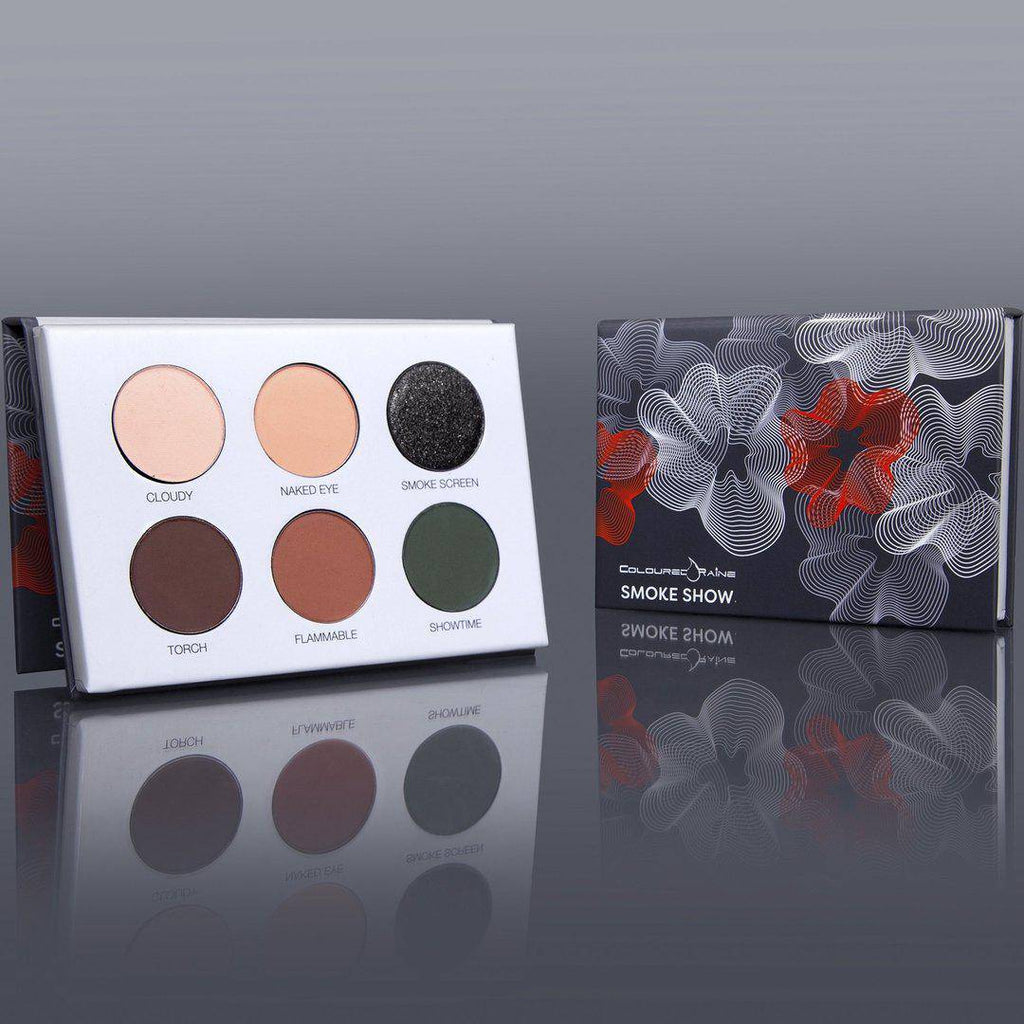 Smoke Show™ warm-toned eyeshadow palette by Coloured Raine Cosmetics