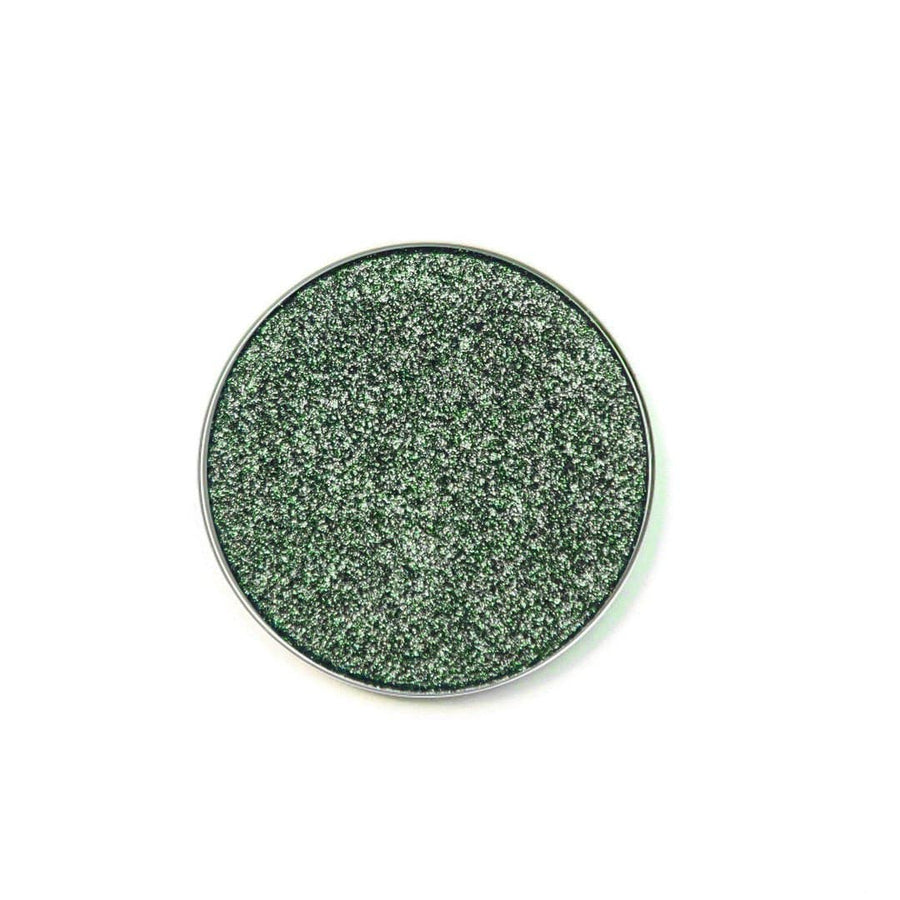 Unexpected rich forest green eyeshadow by Coloured Raine Cosmetics