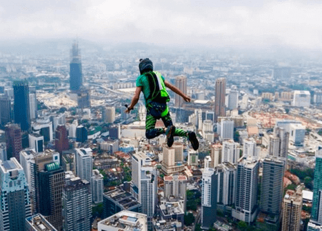 The BASE Jumper