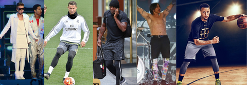 Celebrities in meggings