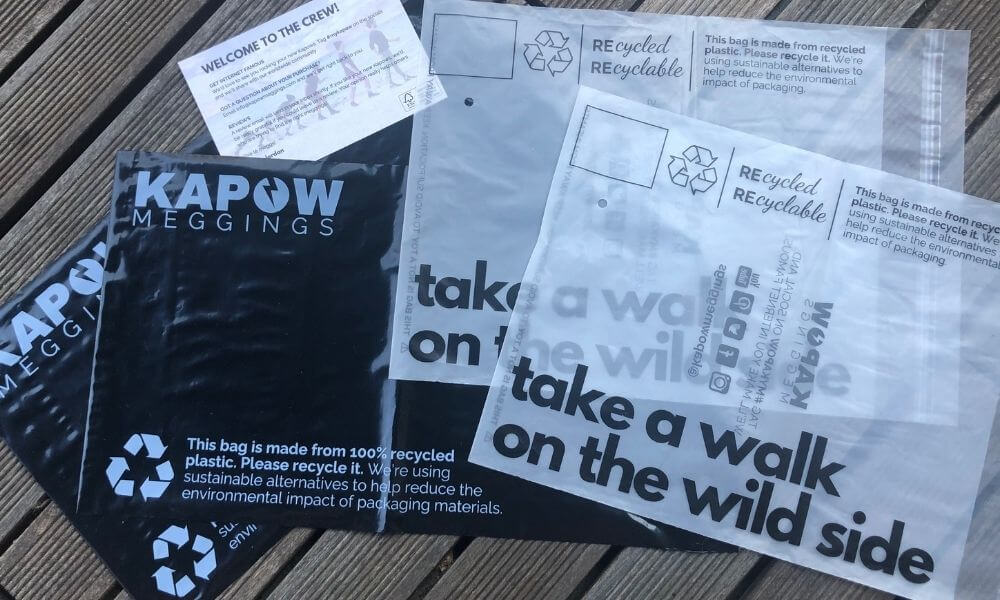 Recyclable packing by Kapow