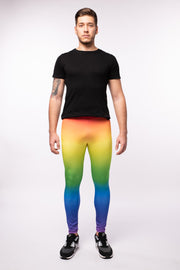 Rainbow Men's Leggings