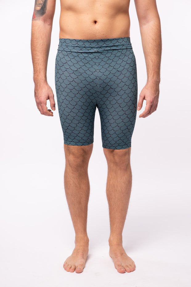 Merman High Waisted Compression Shorts