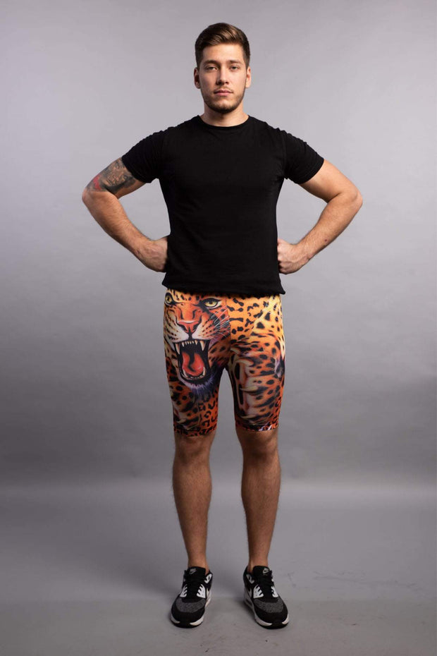 Bengal High Waisted Compression Shorts