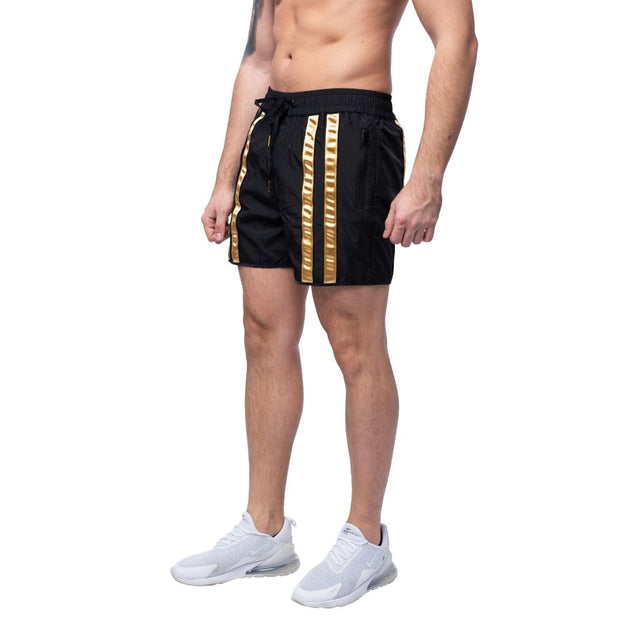Black & Gold Shorts