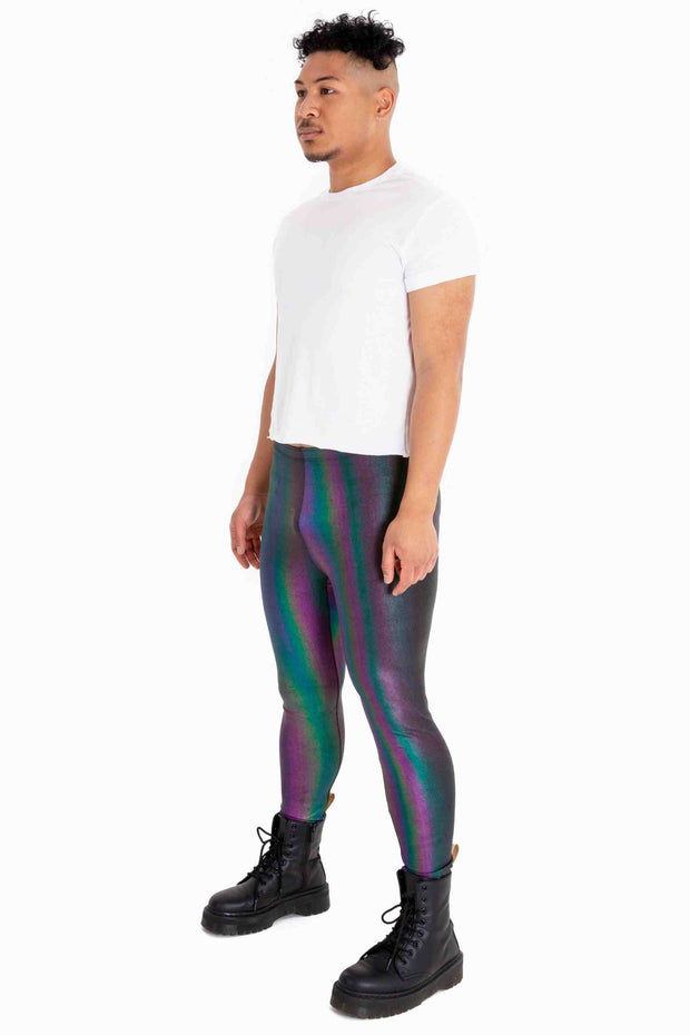 Denim Blaze Meggings