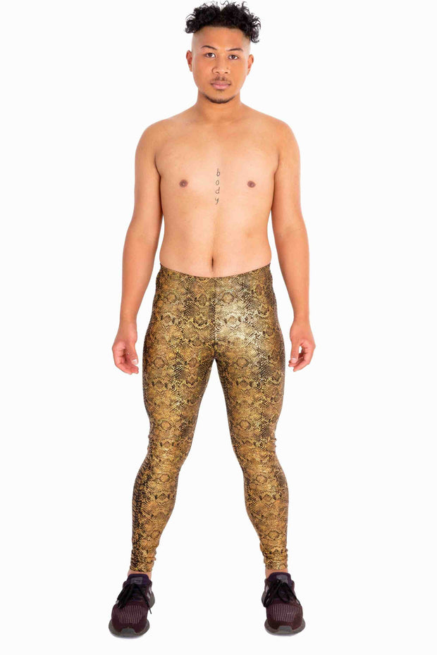 Golden Cobra Meggings