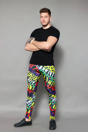 Animal Print Men's Leggings