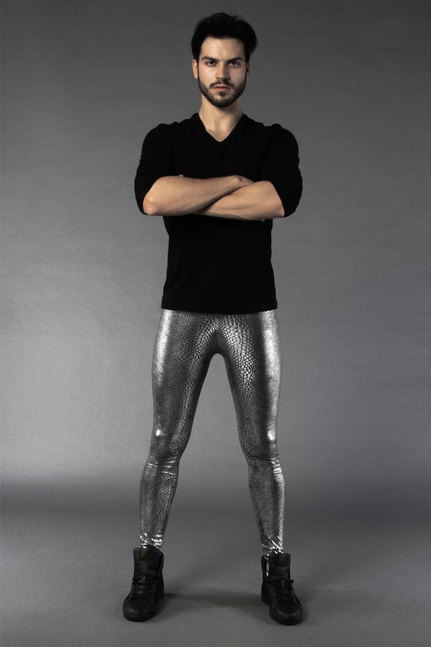 Jake the Snake Meggings - Metallic
