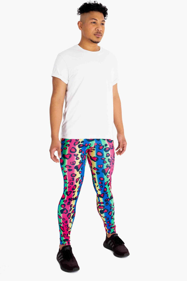 Party Leopard Meggings