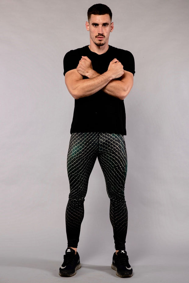 Snakeskin Compression Leggings