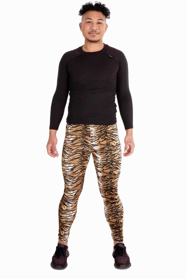 Velvet Tiger Meggings