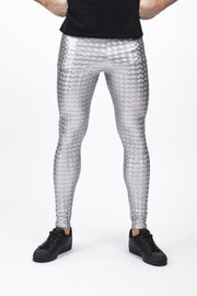Magic Mirror Meggings - Holographic