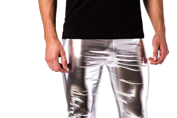 silver bullet meggings close up
