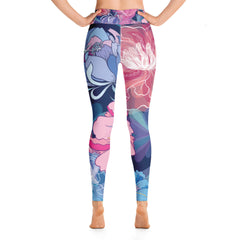 Boho Floral Yoga Leggings